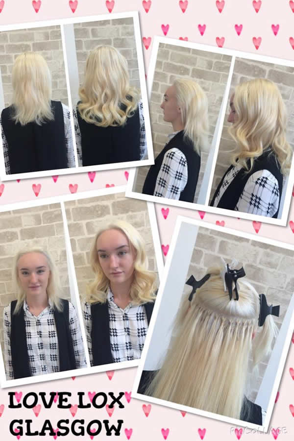 I-Stick Hair Extensions from Love Lox Glasgow